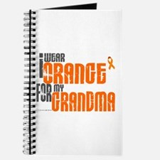 I Wear Orange For My Grandma 6 Journal