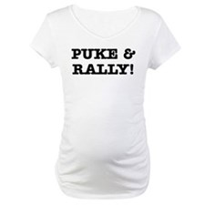 Puke & Rally Quote -Black or Shirt