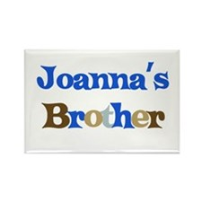 Joanna's Brother Rectangle Magnet