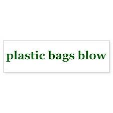 Plastic Bags Blow Bumper Bumper Sticker