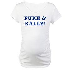 Puke & Rally Quote - Blue Imp Shirt