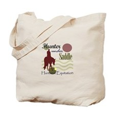 Hunter in maroon Tote Bag