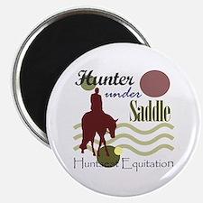 Hunter in maroon Magnet