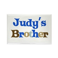 Judy's Brother Rectangle Magnet