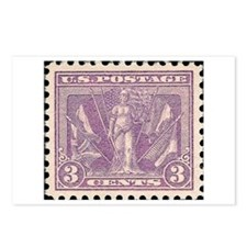 Classic stamps Postcards (Package of 8)