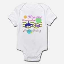 All around western in brights Infant Bodysuit