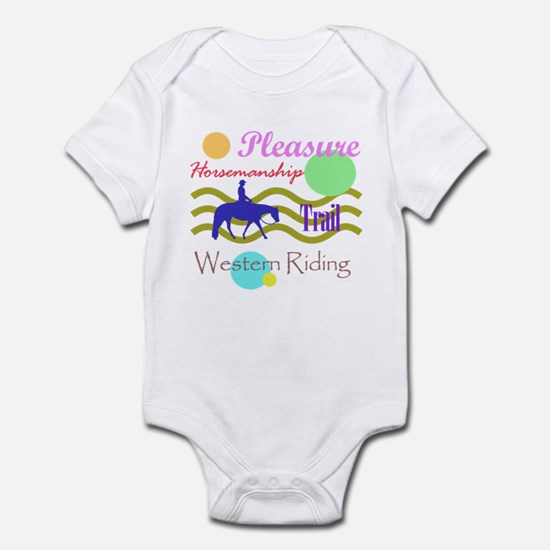 All around western in brights Infant Bodysuit