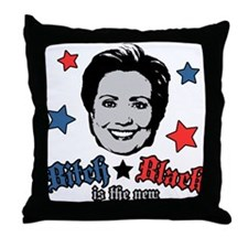 Bitch is the New Black Throw Pillow