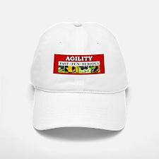 Agility-Fast,Fun,Furious Baseball Baseball Cap