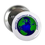 Microbiology buttons Buttons