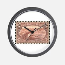 Cool Stamp Wall Clock