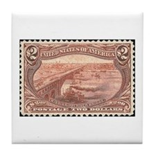 Cool Stamp Tile Coaster