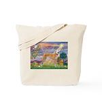 Cloud Angel & Greyound Tote Bag