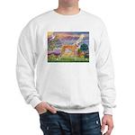 Cloud Angel & Greyound Sweatshirt