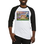 Cloud Angel & Greyound Baseball Jersey