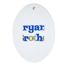 Bryan's Brother Oval Ornament