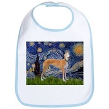 Starry Night & Greyhound Bib