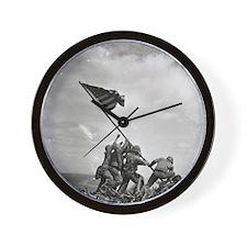 Iwo Jima Wall Clock