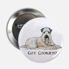"Wheaten Terriers Cookie Dogs 2.25"" Button"