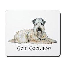 Wheaten Terriers Cookie Dogs Mousepad