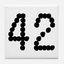 Cute 42 Tile Coaster