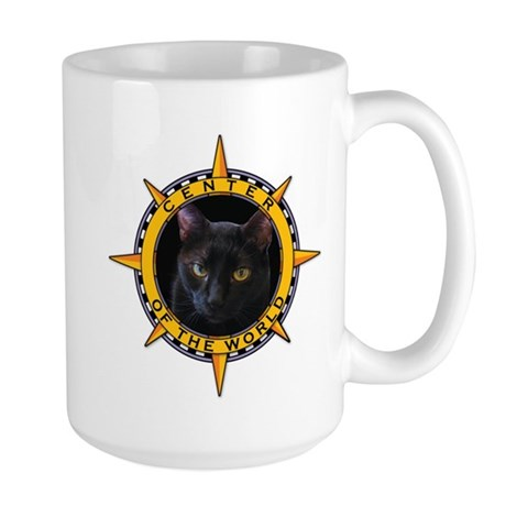 Black Cat Large Mug