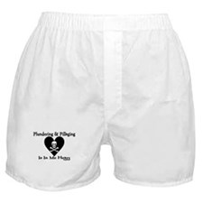 Pirate - Heart Boxer Shorts
