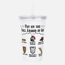 Armor Of God Acrylic Double-Wall Tumbler