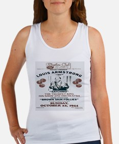 Louis Armstrong Poster Women's Tank Top