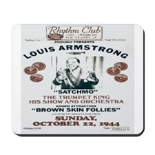 Louis Armstrong Poster Mousepad