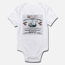 Louis Armstrong Poster Infant Bodysuit