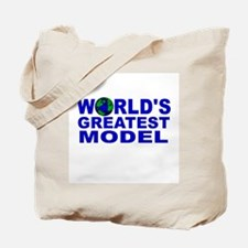 World's Greatest Model Tote Bag