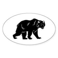 Blackbear Oval Decal