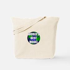 World's Best Model Tote Bag