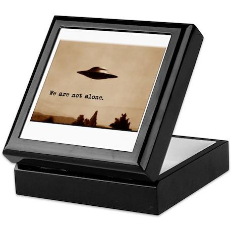 X-Files - We Are Not Alone Keepsake Box