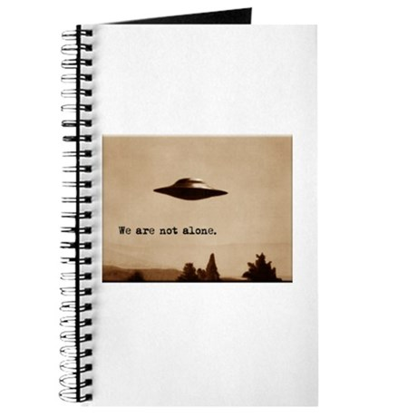 X-Files - We Are Not Alone Journal