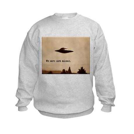 X-Files - We Are Not Alone Kids Sweatshirt