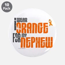 "I Wear Orange For My Nephew 6 3.5"" Button (10 pack"