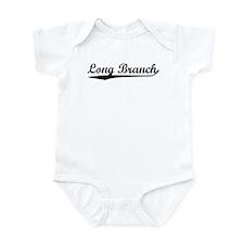 Vintage Long Branch (Black) Infant Bodysuit