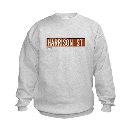 Harrison Street in NY Kids Sweatshirt