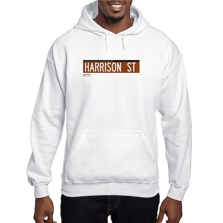 Harrison Street in NY Hooded Sweatshirt