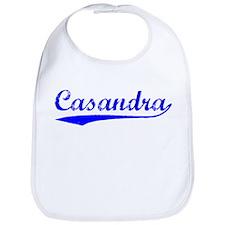 Vintage Casandra (Blue) Bib