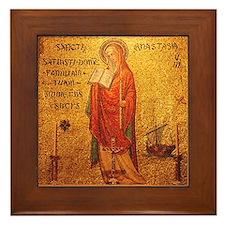 St Anastasia Framed Tile