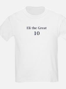 "Eli Manning ""Eli the Great"" T-Shirt"
