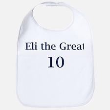 """Eli Manning """"Eli the Great"""" Bib"""
