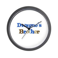 Dwayne's Brother Wall Clock