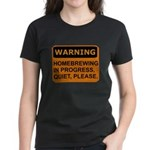 Quiet Please Women's Dark T-Shirt