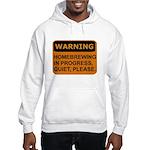 Quiet Please Hooded Sweatshirt
