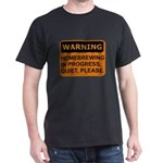 Quiet Please Dark T-Shirt