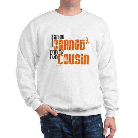 I Wear Orange For My Cousin 6 Sweatshirt